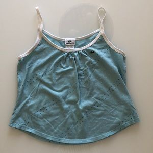 Lacoste blue top